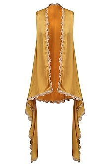 Gold Naya Cape Jacket