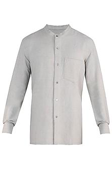 Grey hand loom shirt