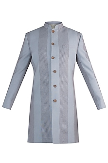 Grey sherwani jacket