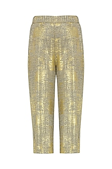 Gold Culotte Pants