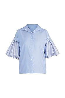 Powder Blue Shirt by Gunu Sahni