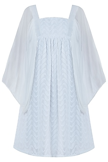 Ivory Chikankari Smock Dress