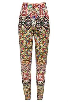 Multicolor Janpath Print Pants