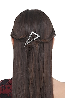 Silver Triangular Hair Pin