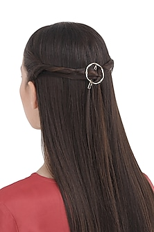 Golden Round Hair Pin by Hair Drama Company