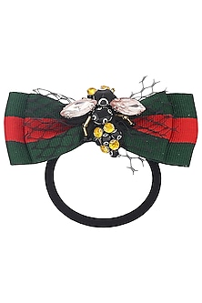 Multi-Colour Bug Motif Rubber Band by Hair Drama Company