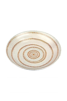 Ivory Coast Ceramic Shallow Bowl  by H2H