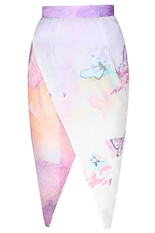 Digital print fairy tale skirt