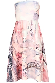 Digital print fairy fantasy dress