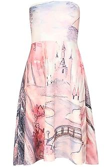Digital print fairy fantasy dress by Hema Kaul