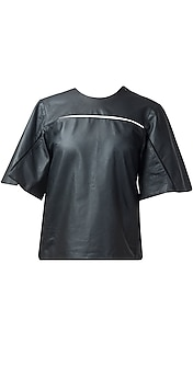 Leather Anti-Fit Tee Shirt
