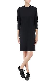 Black T Shirt Dress by Huemn Project