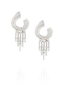 Swarovski waterfall earrings by Ikebaana