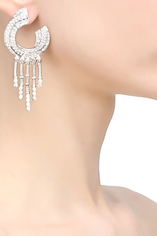 Swarovski waterfall earrings