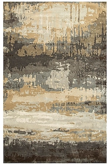 Grey & Black Hand-Tuffed Baroque Rug by Jaipur Rugs