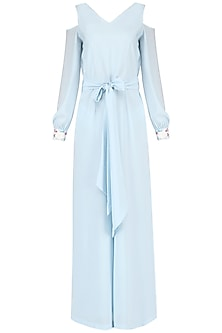 Powder Blue Jumpsuit
