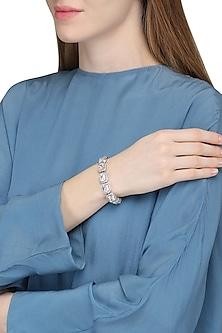 Silver Plated Swarovski Bracelet