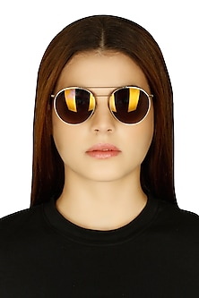 Dylan copper mirrored limited edition sunglasses by Eye Respect