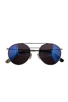 Dylan cobalt mirrored limited edition sunglasses by Eye Respect