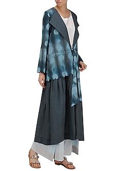 Grey Clamp Dyed Dress by Ka-Sha