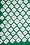 Green Hand Tye and Dye Bandhani Scarf by Ka-Sha