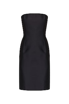 Black Tube Dress by Kanika J Singh