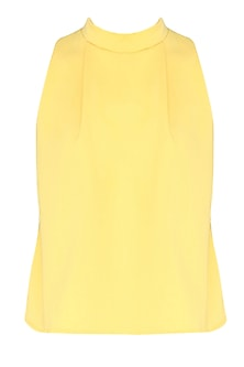 Lemon Yellow A-Line Flared Top