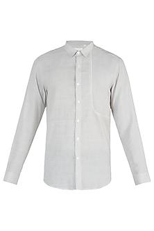 Natural striped shirt by KOS