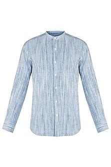 Grey khadi shirt by KOS