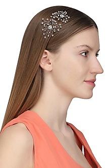 Silver Elsa Crystal Hairpins by Karleo