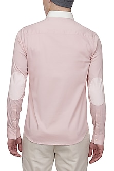 Pink Striped Tape Shirt by LACQUER Embassy
