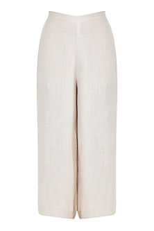 Ivory Cropped Pants by Mati