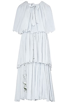 Dainty Blue Frill Dress