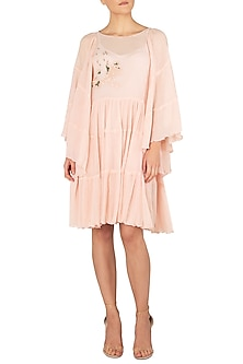 Blossom Pink Knee Length Dress by Meadow