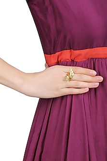 Gold Plated Flying High Ring