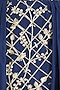Navy Blue Embroidered One Shoulder Top and And Skirt Set by Mahima Mahajan
