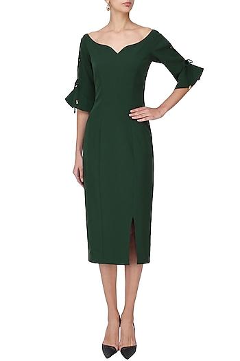 Pine Green Dress