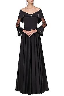 Black Off Audrey Gown