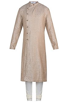 Mustard kurta with pants