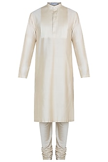 Beige kurta with pants