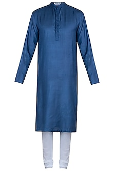 Blue kurta with pants