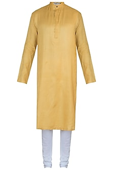 Yellow kurta with pants
