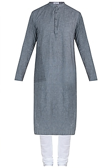 Grey kurta with pyjama pants