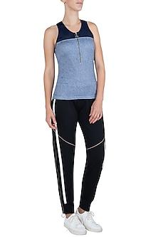 Blue sleeveless top by MYRIAD