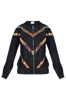 Black hoodie jacket