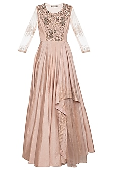 Coco embroidered gown