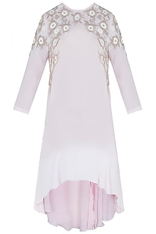 Frost Pink Embroidered Tunic