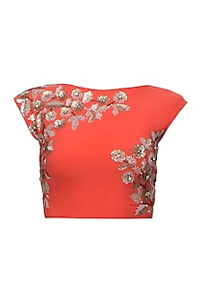 Orange Botanic Gilt Blouse
