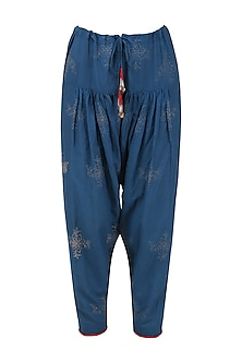 Blue Voile Salwar Pants