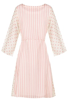 A Cotton Silk Side Panel Breez Dress